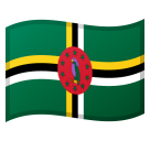 Flag: Dominica on Google Android 8.0