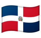 Flag: Dominican Republic on Google Android 8.0