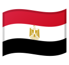 Flag: Egypt on Google Android 8.0