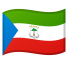 Flag: Equatorial Guinea on Google Android 8.0