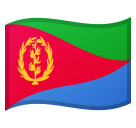 Flag: Eritrea on Google Android 8.0