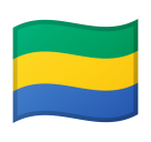 Flag: Gabon on Google Android 8.0