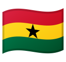 Flag: Ghana on Google Android 8.0