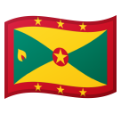 Flag: Grenada on Google Android 8.0