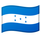 Flag: Honduras on Google Android 8.0