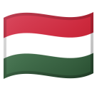 Flag: Hungary on Google Android 8.0