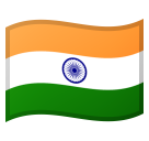 Flag: India on Google Android 8.0