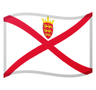 Flag: Jersey on Google Android 8.0