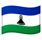 Flag: Lesotho on Google Android 8.0