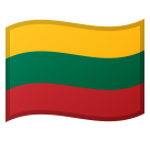 Flag: Lithuania on Google Android 8.0