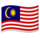Flag: Malaysia on Google Android 8.0