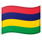 Flag: Mauritius on Google Android 8.0