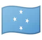 Flag: Micronesia on Google Android 8.0