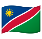 Flag: Namibia on Google Android 8.0