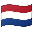 Flag: Netherlands on Google Android 8.0