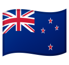 Flag: New Zealand on Google Android 8.0