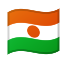 Flag: Niger on Google Android 8.0