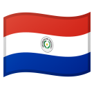 Flag: Paraguay on Google Android 8.0