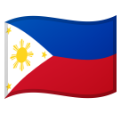 Flag: Philippines on Google Android 8.0