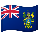 Flag: Pitcairn Islands on Google Android 8.0