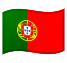 Flag: Portugal on Google Android 8.0