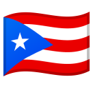 Flag: Puerto Rico on Google Android 8.0