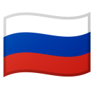 Flag: Russia on Google Android 8.0