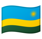 Flag: Rwanda on Google Android 8.0