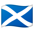 Flag: Scotland on Google Android 8.0
