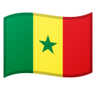 Flag: Senegal on Google Android 8.0