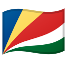 Flag: Seychelles on Google Android 8.0