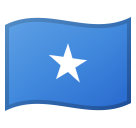 Flag: Somalia on Google Android 8.0