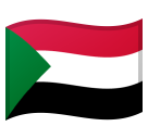 Flag: Sudan on Google Android 8.0