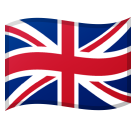 Flag: United Kingdom on Google Android 8.0