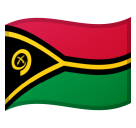 Flag: Vanuatu on Google Android 8.0