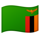 Flag: Zambia on Google Android 8.0