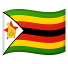 Flag: Zimbabwe on Google Android 8.0