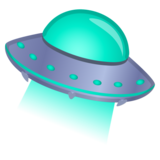 Flying Saucer on Google Android 8.0