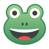 Frog Face on Google Android 8.0