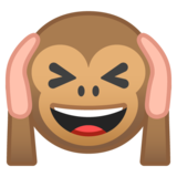 Hear-No-Evil Monkey on Google Android 8.0