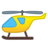 Helicopter on Google Android 8.0