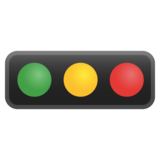 Horizontal Traffic Light on Google Android 8.0