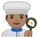 Man Cook: Medium Skin Tone on Google Android 8.0
