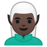 Man Elf: Dark Skin Tone on Google Android 8.0