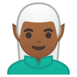 Man Elf: Medium-Dark Skin Tone on Google Android 8.0