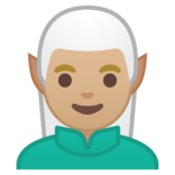 Man Elf: Medium-Light Skin Tone on Google Android 8.0