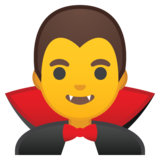 Man Vampire on Google Android 8.0