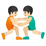 Men Wrestling, Type-1-2 on Google Android 8.0