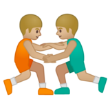 Men Wrestling, Type-3 on Google Android 8.0