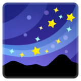 Milky Way on Google Android 8.0